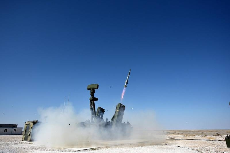 Turkey successfully tested Hisar A + anti-aircraft missile systems